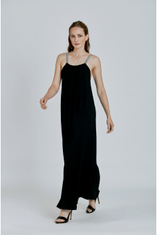 Vestido Fiesta-Negro-S