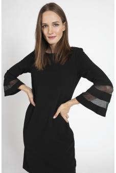 Vestido Liso-Negro-44