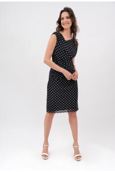 Vestido Estampado-Negro-44