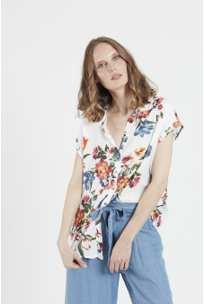 Blusa estampada floral Privilege