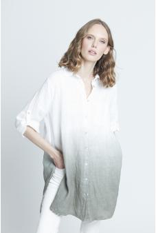 Blusa lino larga
