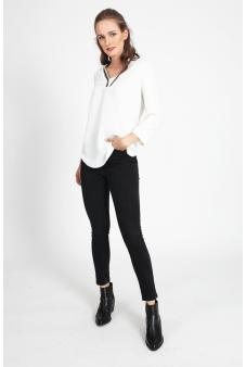 Blusa detalle cuello-Blanco-46