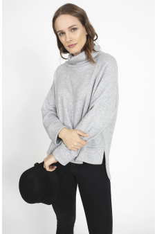 Sweater gris - Calce Holgado