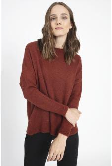 Sweater Liso tostado