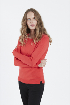 Sweater, escote redondo