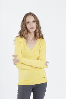 Sweater, escote V